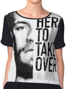 McGregor - Here to take over  Chiffon Top