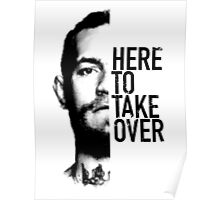 McGregor - Here to take over  Poster