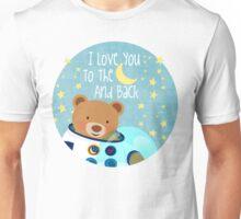 Astronaut teddy bear Unisex T-Shirt
