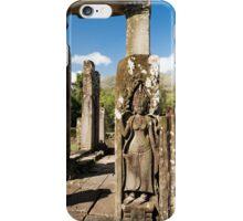 Bayon Temple Ruins in Cambodia iPhone Case/Skin