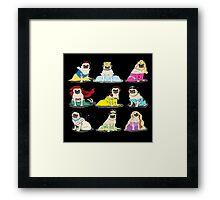 princes pugy  Framed Print