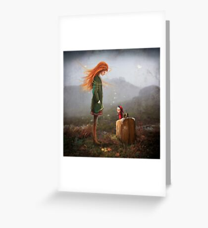 'Take Me To The Castle' Greeting Card