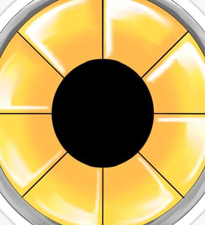 Metal Sonic Turbine Sticker