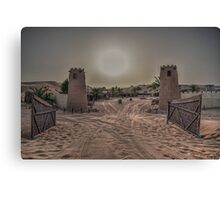 Desert Safari Camp, Dubai - The Dubai Collection Canvas Print