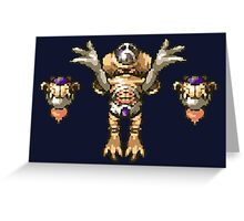 Chrono Trigger - Lavos Core Greeting Card