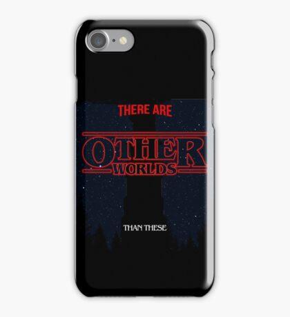 Stranger Worlds iPhone Case/Skin