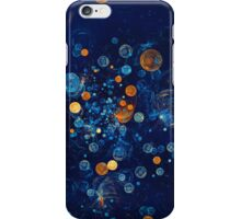 Fractal Soapbubbles - Abstract In Blue And Orange iPhone Case/Skin