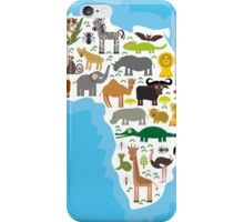 Animal Africa Continent iPhone Case/Skin