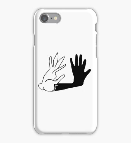 Easter Bunny Shadow Puppet iPhone Case/Skin