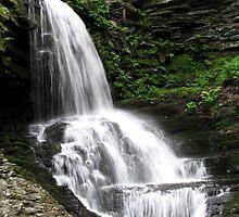 Misty Waterfall ~ Springtime Fresh by SummerJade