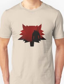The Witcher Red Wolf Unisex T-Shirt