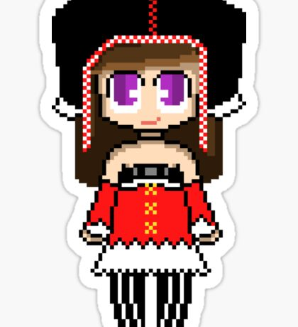 Allisa Miku's Outfit - Project EVO Sticker