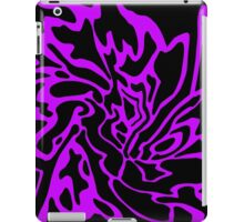 Purple and black decor iPad Case/Skin