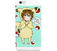 pika-cute iPhone Case/Skin