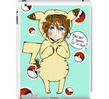 pika-cute iPad Case/Skin