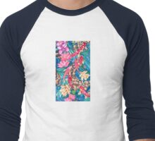 Koi Pond Men's Baseball ¾ T-Shirt