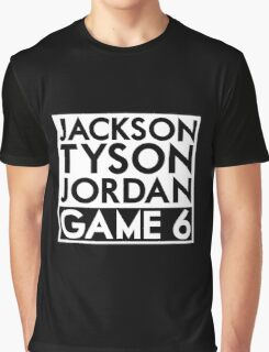 Tyson Jack Jordan / Game 6 Graphic T-Shirt