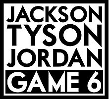 Tyson Jack Jordan / Game 6 Photographic Print