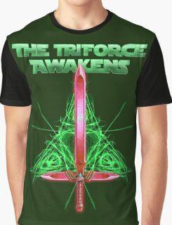 The Triforce Awakens Graphic T-Shirt