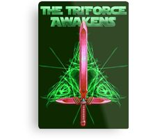 The Triforce Awakens Metal Print