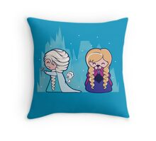Let It Go...oops Throw Pillow