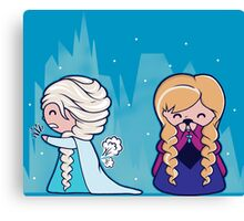 Let It Go...oops Canvas Print