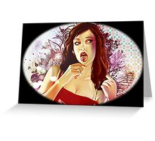 -GEEK- GTA Girl Greeting Card