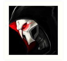 Overwatch Reaper Print Art Print