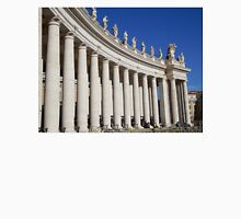 Colonnade at the Vatican, Rome Unisex T-Shirt