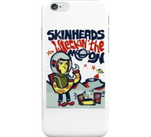 SKINHEADS WRECKIN THE MOON iPhone Case/Skin