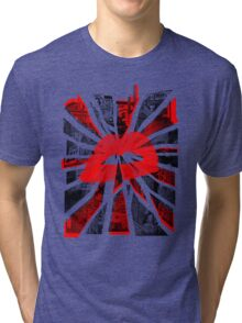 Kisses from the city. Tri-blend T-Shirt