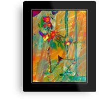 Trumpet Player Metal Print