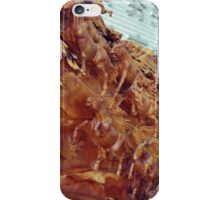 Wooden Horses iPhone Case/Skin