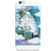 Backbending from the Heart and Lungs iPhone Case/Skin