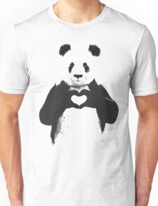 love panda Unisex T-Shirt