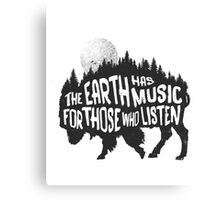 The music of nature Canvas Print