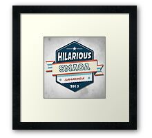 Hilarious pt2 Framed Print