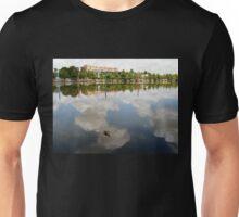 Floating in the Sky, Lake Ginninderra, A.C.T. Australia. Unisex T-Shirt