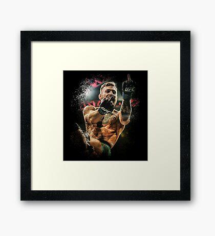 Conor McGregor - Fingers Framed Print
