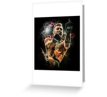 Conor McGregor - Fingers Greeting Card