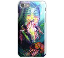 The Movement of the Diaphragm iPhone Case/Skin