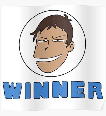 Lance Winner lol Poster