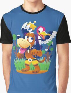 ~ Banjo-Kazooie & Duck Hunt ~ Graphic T-Shirt