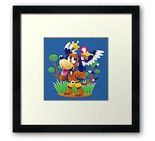 ~ Banjo-Kazooie & Duck Hunt ~ Framed Print