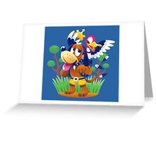 ~ Banjo-Kazooie & Duck Hunt ~ Greeting Card