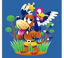 ~ Banjo-Kazooie & Duck Hunt ~ Photographic Print