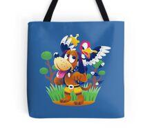 ~ Banjo-Kazooie & Duck Hunt ~ Tote Bag