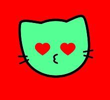 Kawaii Kitty Cats 2048 - tile 1024 by tankdodger