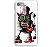 Butyl Betty The Essex Poodle iPhone Case/Skin