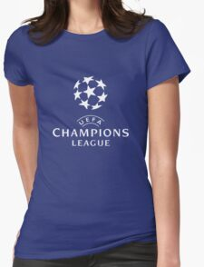 UEFA Champions Womens Fitted T-Shirt